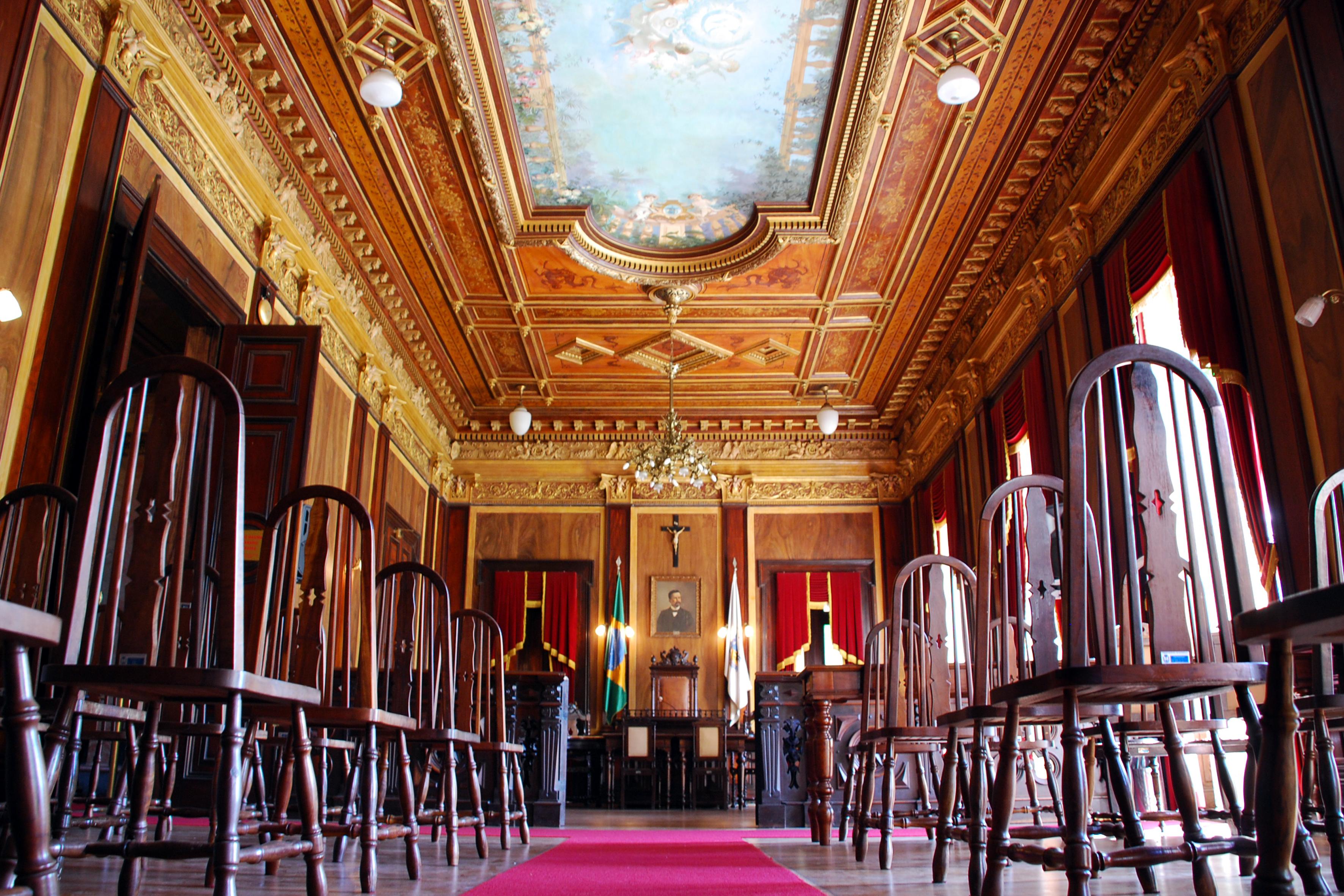 Interior Palácio Amarelo