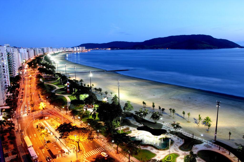 Orla noturna (foto Tadeu Nascimento)