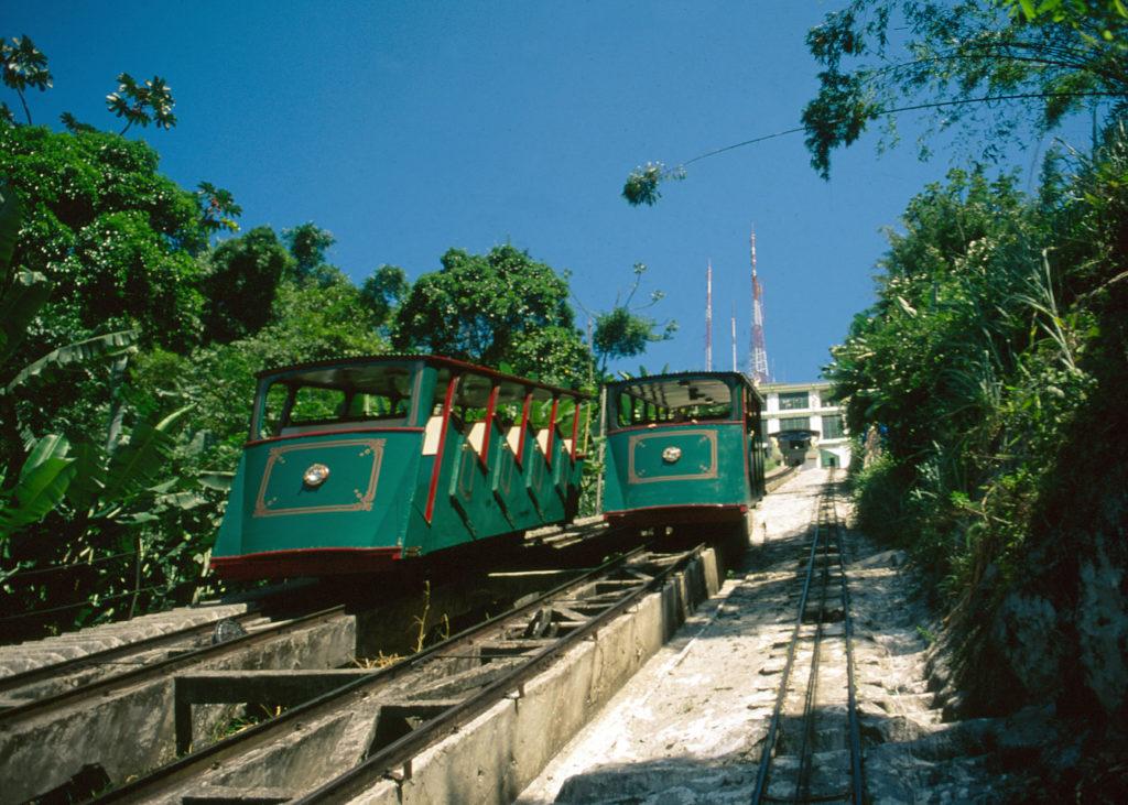 Bondes funiculares do Monte Serrat - Centro Histórico (foto Tadeu Nascimento)
