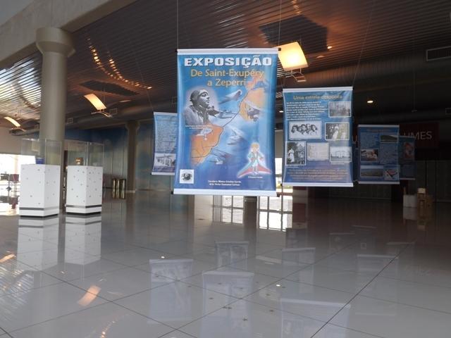 """Exposição e documentário """"De Saint-Exupéry a Zeperri"""" no Museu da TAM"""
